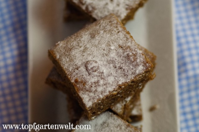 Schokoladen-Kürbis-Kuchen vom Blech - Foodblog Topfgartenwelt