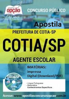 EDITAL CONCURSO PÚBLICO Cotia-SP 2016.
