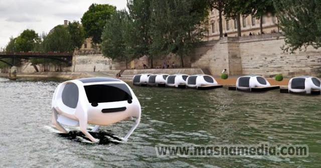 Inilah Taksi Air Masa Depan