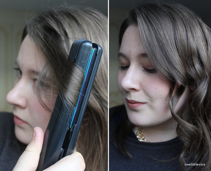 onelittlevice beauty blog: toni & guy fluid metal styler review