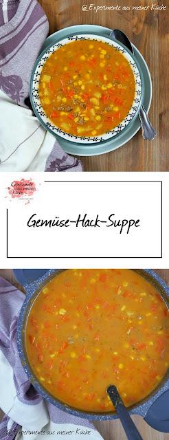 Gemüse-Hack-Suppe   Rezept   Essen   Kochen   Weight Watchers
