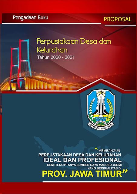 Proposal Pengadaan Buku Perpustakaan Desa dan Kelurahan Provinsi Jawa Timur 2020 - 2021