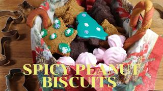 peanut biscuits glutenfree christmas