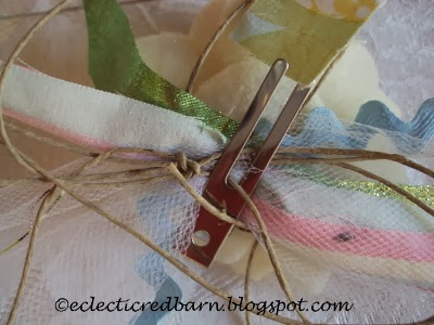 Eclectic Red Barn: hand made gift tag
