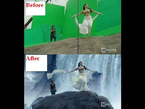 bahubali movie vfx scenes