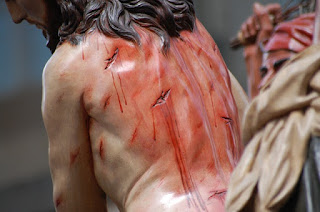 Margaret Kazmierczak writes about Jesus being scourged