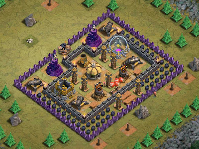 Goblin Base Clash of Clans Rolling Terror