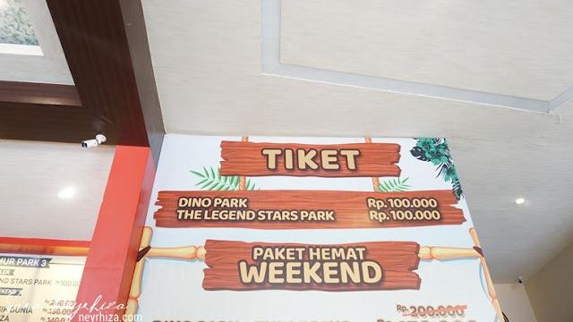 HARGA TIKET  Dino Park Jatim Park 3 Batu Malang