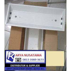 Jual Lampu TKI TL LED 2x18watt + Kap di Makasar