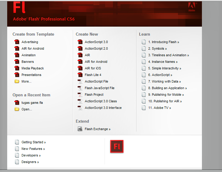 Adobe Flash CS6 Professional Full Version