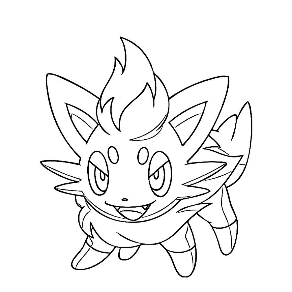 flareon coloring pages printable free