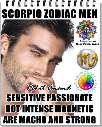 Scorpio men, scorpio zodiac man horoscope, scorpio weekly horoscope readings, scorpion guy