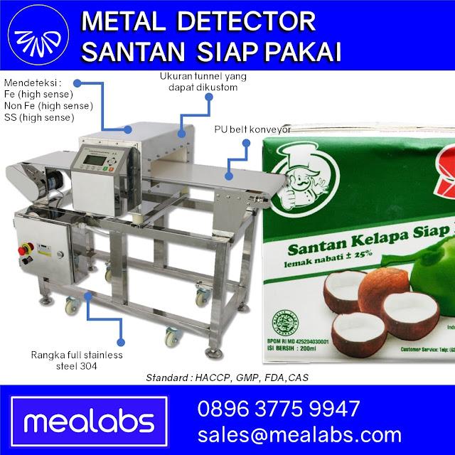 Metal Detector Santan Kelapa