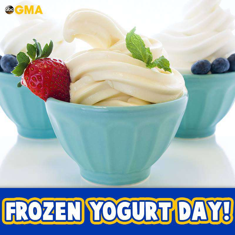 National Frozen Yogurt Day Wishes pics free download