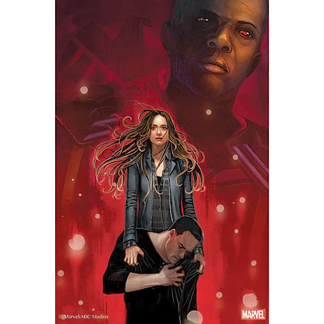 "Agents of SHIELD The Art of Level 7 Print #4 - ""Nothing Personal"" by Stephanie Hans"