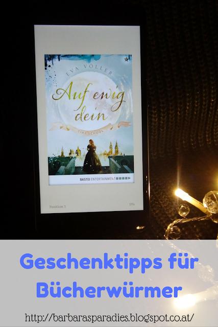 Geschenktipps für Bücherwürmer: Time School 1: Auf ewig dein von Eva Völler
