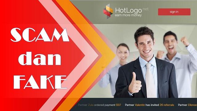 HotLogo 100% Scam Jangan Daftar!!!