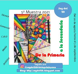 Flyer De la primaria a la Secundaria. contiene texto: desde el 20 de agosto hasta el 3 de septiembre.