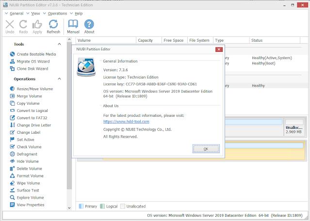 Niubi partition editor technician latest