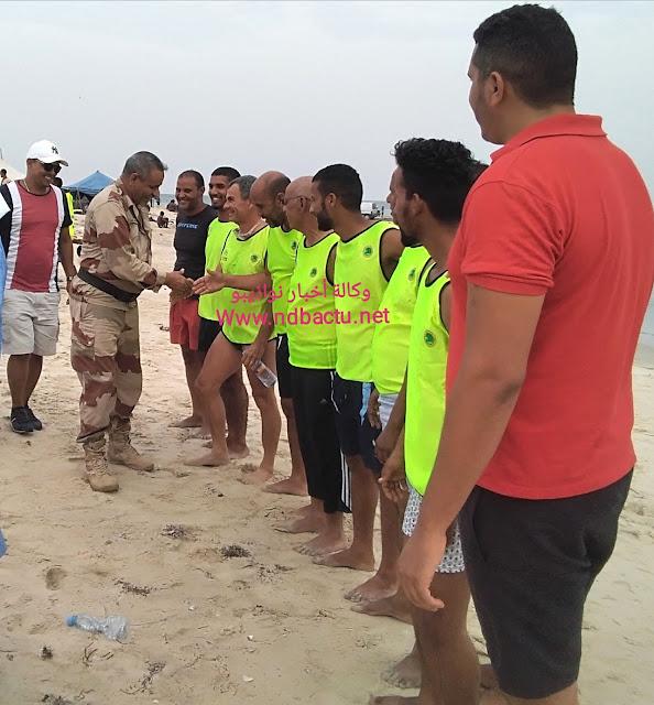 نواذيبو : انطلاق أول بطولة وطنية للسباحة الحرة و تأهل 4 موريتانيين و فرنسيين.- صور