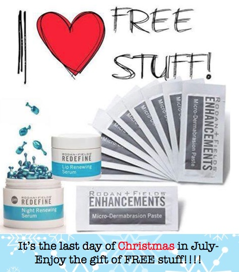 And if you are wondering if Rodan + Fields might be for you.... Here is  some more info on the 4 regimens. As a Christmas in July special if you  join as ... 9c0a8a58a