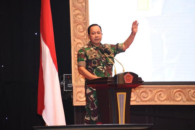 Danjen Akademi TNI : Perwira Profesional Harus Miliki Komitmen dan Sikap Pantang Menyerah