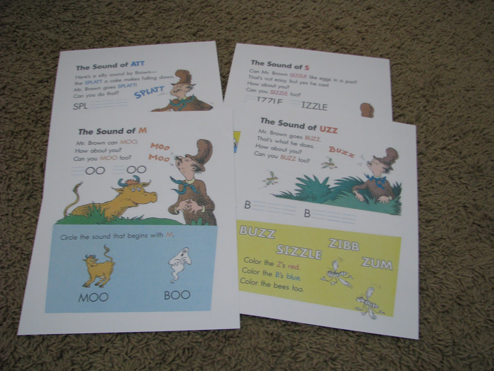 Mommy S Little Helper Dr Seuss Mr Brown Can Moo Can You