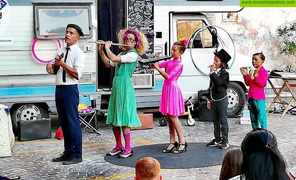 El espectáculo circense de 'CircusFamilyontheroad' llega a Fuencaliente el próximo 13 de marzo
