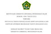 Juknis Bantuan Kinerja dan Afirmasi Madrasah Tahun 2021