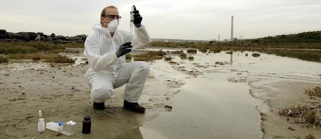 بحث حول تلوث المياه  أسبابه ونتائجه