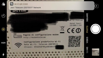 QR New in iOS 11: Sign up for Wi-Fi networks via scanning a router's QR code Jailbreak