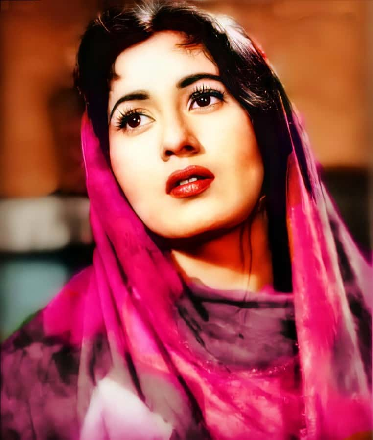 madhubala colour photo hd