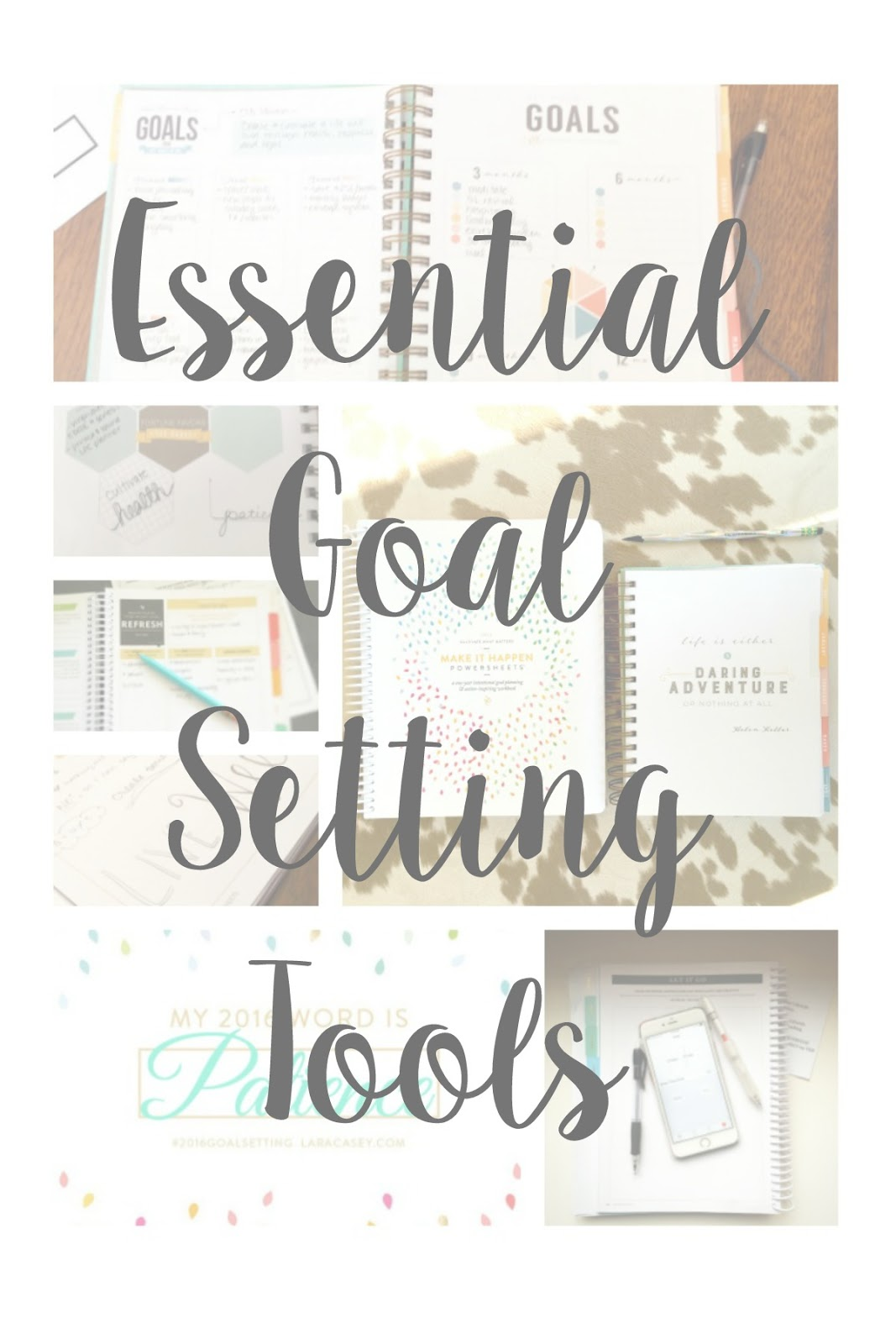 Sweetpea Lifestyle Essential Goal Planning Tools
