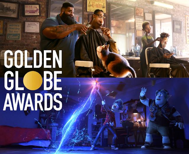 Pixar Soul and Onward Nominated for Golden Globes