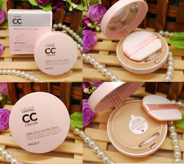 Review | CC Cream Aura của The Face Shop che phủ khá tốt, the face shop, aura cc cream, cc cream, kem nền, cushion