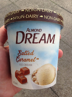 Almond Dream Salted Caramel Ice Cream