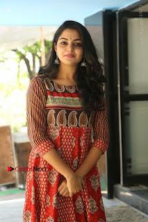 Telugu Actress Nikhila Vimal Latest Stills in Anarkali Dress  0179.JPG