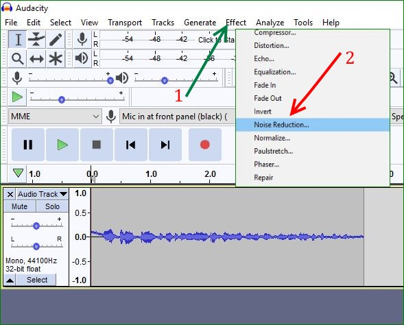 noise-reduction-in-audacity-software