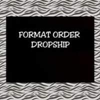 Format Order Dropship Garskin Skin hp dan Skin Laptop