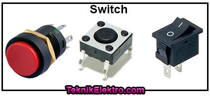 saklar switch rangkaian elektronika