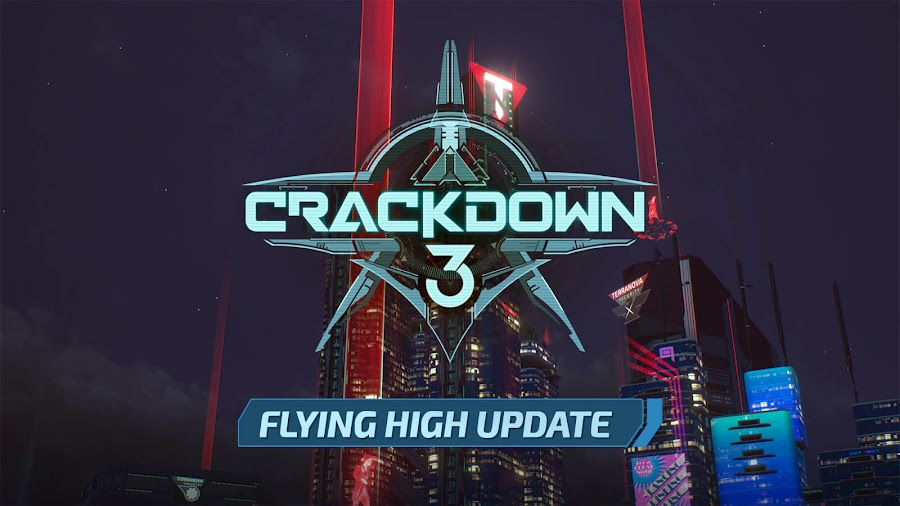 crackdown 3 flying high free update live xbox game pass microsoft studios