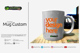 Mockup Mug Custom by gubukhijau