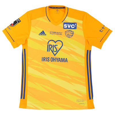 J1 League 2021 Vegalta Sendai Kits