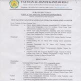 Contoh SK Operator Sekolah TK/KB/ PAUD