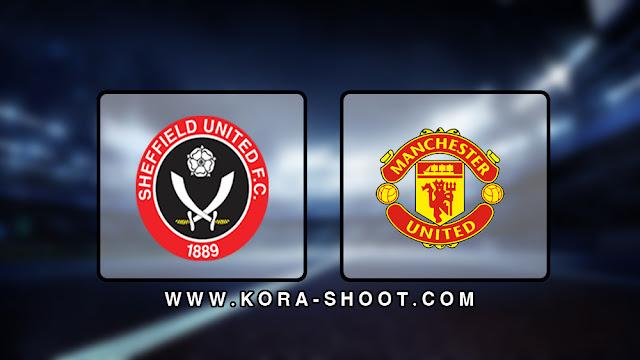 موعد مباراة مانشستر يونايتد وشيفيلد يونايتد بث مباشر بتاريخ 24-06-2020 الدوري الانجليزي