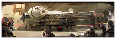 Star Wars: The Original Trilogy Fine Art Giclee Prints by Pablo Olivera x Bottleneck Gallery