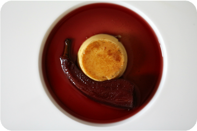 Crème Caramel mit Lorbeer, Abbé Fétel in Holundersaft | Arthurs Tochter Kocht von Astrid Paul