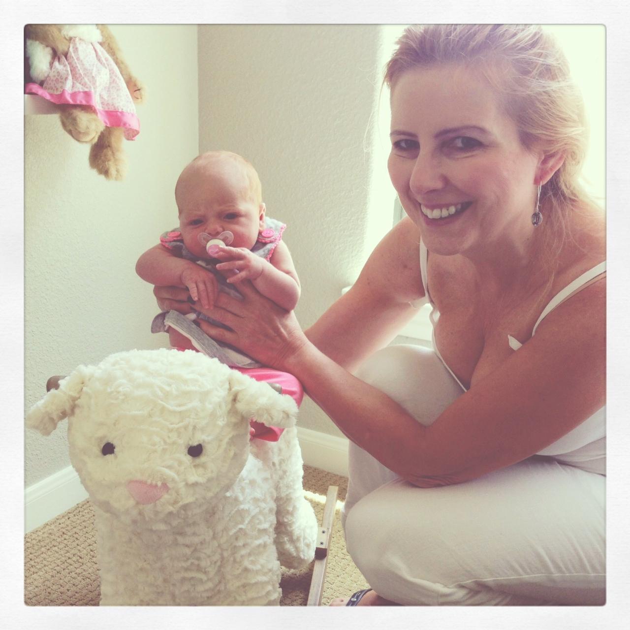 Veronika's Blushing: Harper Meets Grandma
