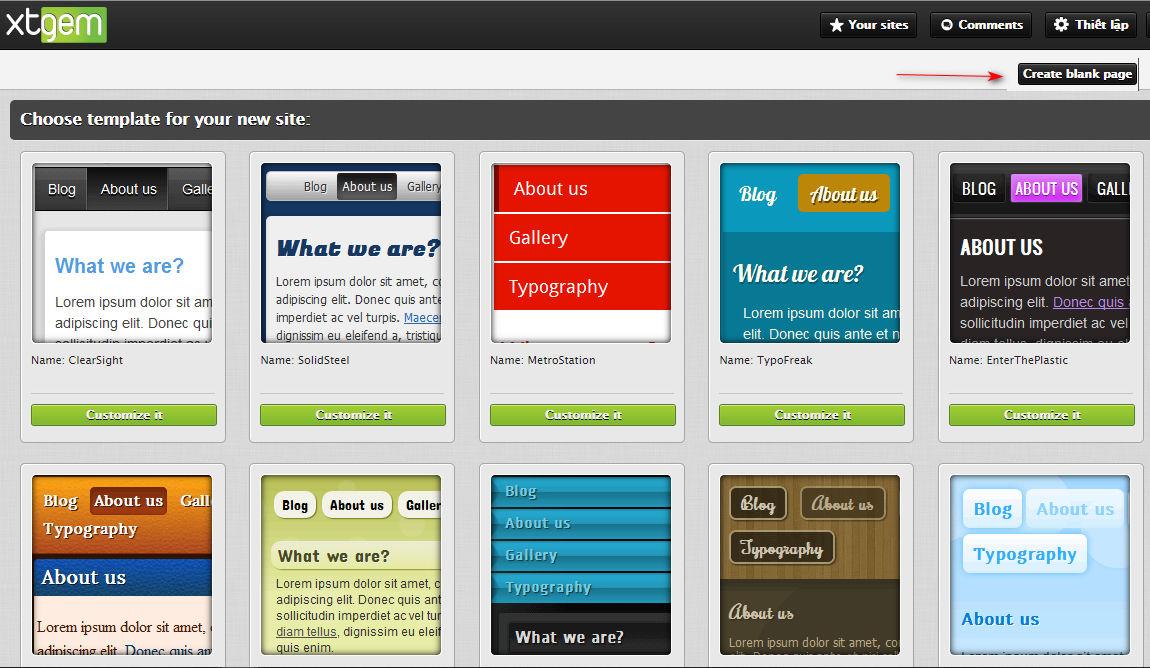 hướng dẫn tạo website miễn phí