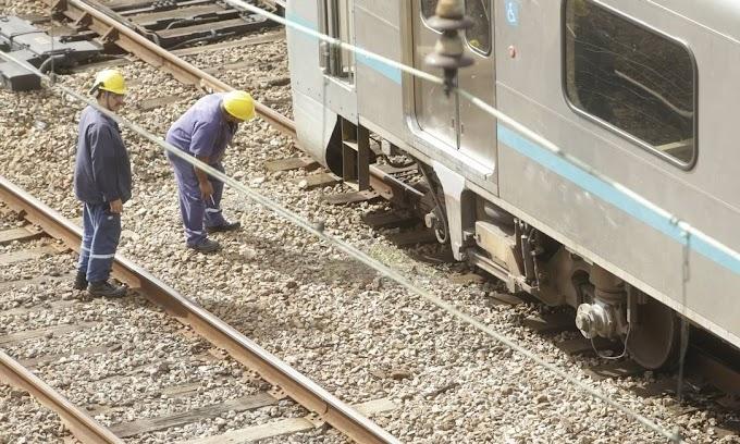 Um trem da SuperVia descarrila a cada dois meses, de acordo com levantamento.